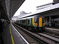 Class 350 train at East Croydon - geograph.org.uk - 1532420.jpg
