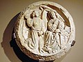 Clau de volta amb la representació de l'Anunciació (48509697937).jpg