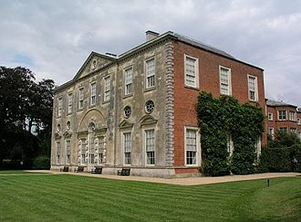 Frederick Verney - Claydon House in Aylesbury Vale, Buckinghamshire, inherited in 1827 by Verney's father Sir Harry