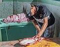 Cleaner fish in Los cocos fish market, Margarita Island.jpg