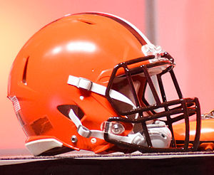 Football helmet - 2015 Cleveland Browns helmet