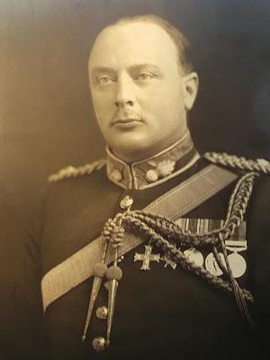 Clifford Thomason Beckett - Major-General Clifford Beckett CB, CBE, MC, DL (1937)  Photograph courtesy of Mrs E.G. Beckett