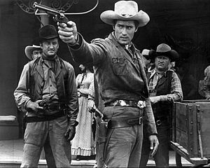 Cheyenne (TV series) - Clint Walker as Cheyenne Bodie