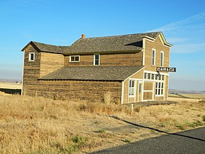 National Register of Historic Places listings in Asotin County, Washington - Image: Cloverland Garage, Washington