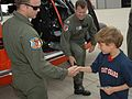 Coast Guard Air Station Traverse City crew reunites with rescued boy from Illinois 140729-G-PL299-139.jpg