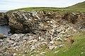 Coastline at Clave, Westing - geograph.org.uk - 1912221.jpg