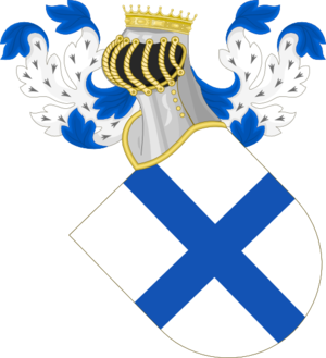 Portuguese House of Burgundy - Image: Coat of Arms of D. Henry of Burgundy, Count of Portugal