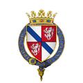 Coat of Arms of Galeard de Durefort, Seigneur de Duras, KG.png
