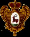 Coat of Arms of Nizhny Novgorod 1730 colour.png