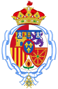 Coat of arms of Infanta Margarita of Spain, Duchess of Soria.svg