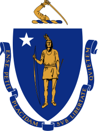 Commonwealth of Massachusetts Coat of Arms, via Wikipedia