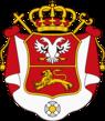 Coat of arms of Metropolitan Petar I of Montenegro.png