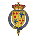 Coat of arms of Sir Edward Courtenay, 1st Earl of Devon, KG.png