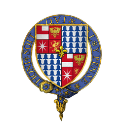 Coat of arms of Sir Edward Woodville, Lord Scales, KG.png