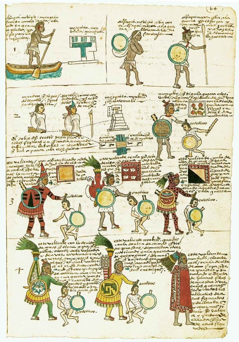 Codex Mendoza folio 64r