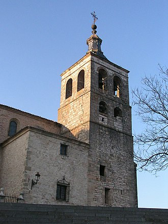 Cogolludo - Image: Cogolludo Cathedral tower 1