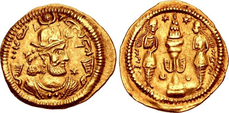 Coin of Bahram Chobin, Susa mint