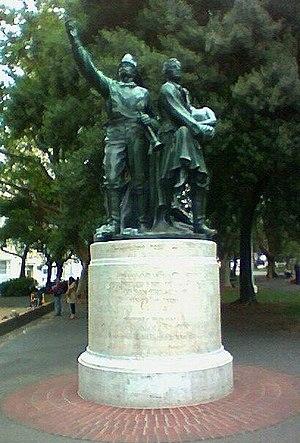 Lillie Hitchcock Coit - Image: Coit memorial statue wash park sanfran davidspalding
