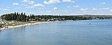 חוף הרחצה קינוסו, לגדת אגם קולד