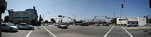 Rowland Heights, California - Colima/Nogales intersection