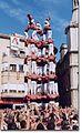 Colla Vella dels Xiquets de Valls - Primer 9de8 descarregat de la història - Diada del Mercadal 2001.jpg