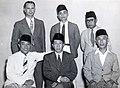 Collectie NMvWereldculturen, TM-60042254, Foto- De delegatie van Zuid-Sumatra tijdens een Federale conferentie voor een Federaal Indonesie, Batavia, 14 juni 1948, 1948.jpg