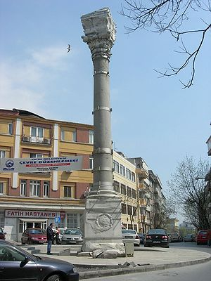Column of Marcian - The column in 2007.