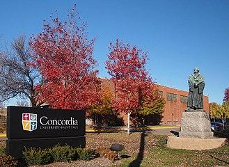 Concordia University (Saint Paul, Minnesota) - Entrance to Concordia University