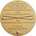 Congressional Gold Medal Arnold Palmer (reverse).jpg