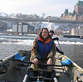 Consul General Abigail Friedman joined Quebec ice canoers on the St-Lawrence River -a.jpg