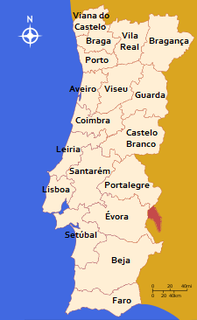 Districts of Portugal Wikimedia list article