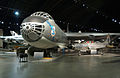 Convair B-36J Peacemaker and Lockheed F-94C Starfire on display at the National Museum of the United States Air Force.jpg