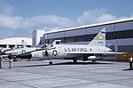 Convair F-102A 54-0185 190FIS ID ANG Mt. Home AFB May69 (Peter B.Lewis via RJF) (21607198595).jpg