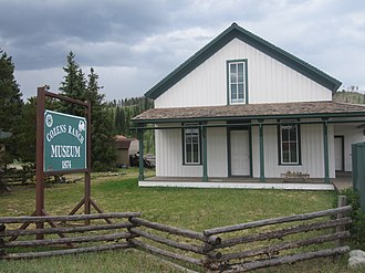 Fraser, Colorado - Cozens Ranch Museum (1874)