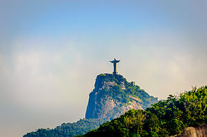 Corcovado - The statue of Christ the Redeemer atop Corcovado