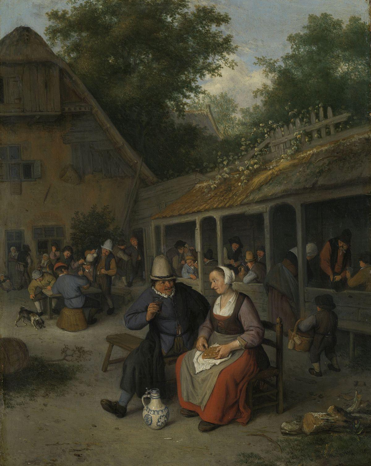 Картинки по запросу boerenherberg van cornelis dusart