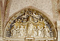 Coronation of the Virgin - Tympanum - Santa Maria delle Grazie - Milan 2014 (2).jpg