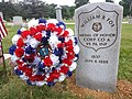 Corporal William R. Fox Medal of Honor gravestone.jpg