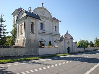 Józefów nad Wisłą - Image: Corpus Christi church in Jozefow nad Wisła A7032 02