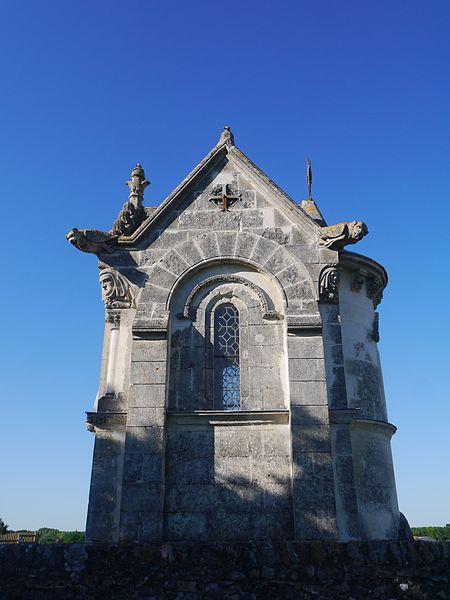 La chapelle du cimetière.