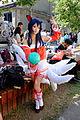 Cosplayer of Ahri, League of Legends at FFK8 20151129.jpg