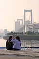 Couple on Rainbow Bridge, Tokyo.jpg