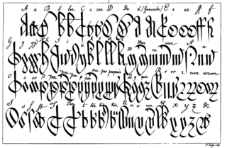 Court hand Style of handwriting used in medieval English law courts