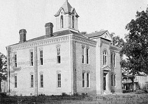 Winnfield, Louisiana - Courthouse, 1904