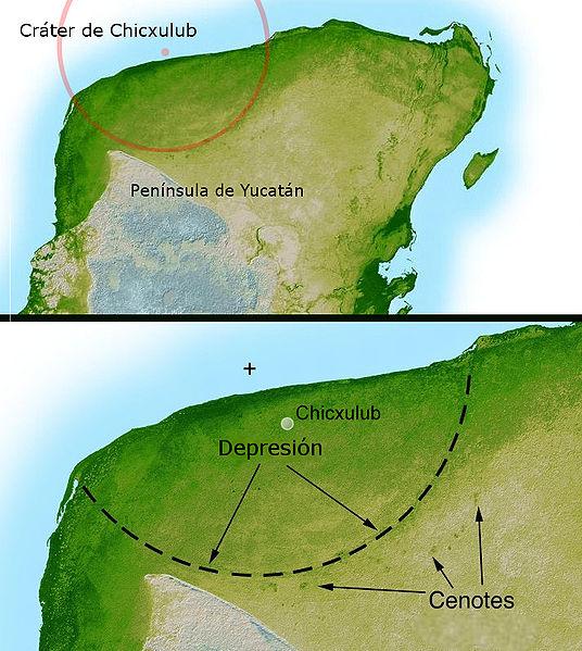 Archivo:Cráter de Chicxulub.jpg