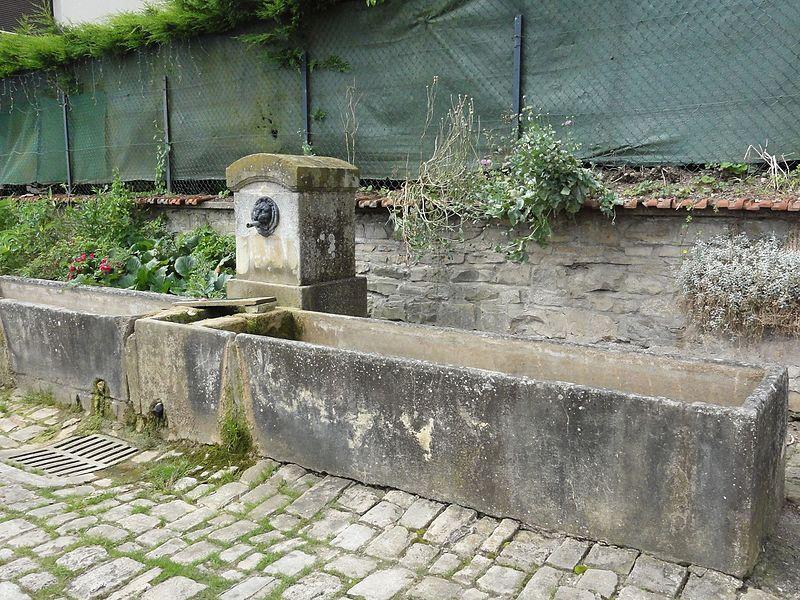 Crévéchamps (M-et-M) fontaine
