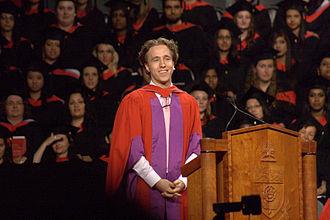 Craig Kielburger - Craig Kielburger addressing candidates at the 2013 York University Convocation