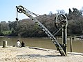 Crane at Cotehele Quay - geograph.org.uk - 524405.jpg
