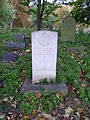 Crathern Royal Engineers grave City of Westminster Cemetery, Hanwell.JPG