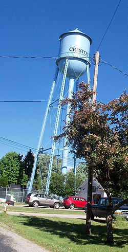Creston water tower